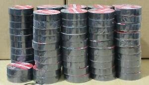 Lot Of 92 Utilitech 60 ft Black Electrical Tape