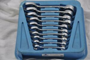 Cornwell Stubby Sae Wrenches 7 16 To 1 Inch Wcxs110st