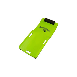Low Profile Green Plastic Creeper Easy Clean Surface Shop Equipment Automotive