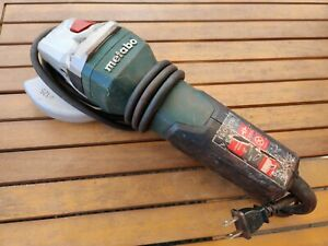 Metabo 603624420 4 5 5 Angle Grinder W non locking Paddle 11 000 Rpm 11a Used