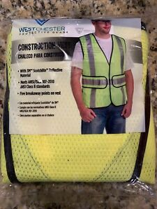 West Chester High Visibility Construction Vest