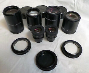 Olympus Df Objective Lens Set Of 4 Plus Extras