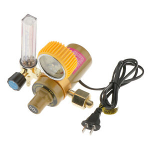 Arc Welding Chemical Industry Brass Co2 Pressure Regulator Reducer Gauges