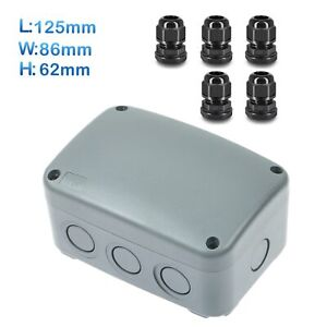 Abs Plastic Waterproof Junction Box Case Electrical Enclosure Case Electrical Us