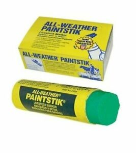 All Weather Green Painstiks For Swine cattle livestock 4 Boxes Of 12