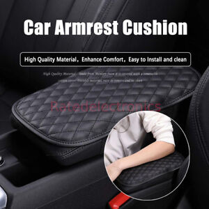 Universal Car Armrest Cushion Comfortable Center Console Cover Protection Pad Us