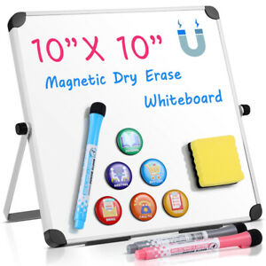 Magnetic Dry Wipe White Board Drywipe Office Notice Board With Magnets Marker