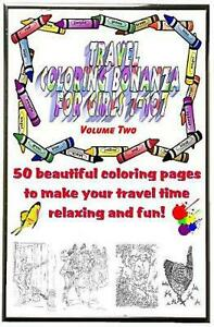 Travel Coloring Bonanza for Girls Ages 7 107 Volume 2 by Lee Olson English Pap $15.79