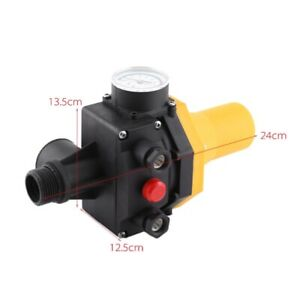 Automatic Water Pump Regulator Electric Control Switch With 220v Pressure Gauge