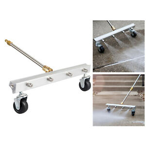 Pressure Washer Surface Water Broom Undercarriage Cleaner Extension Wand