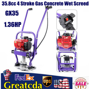 35 8cc 1 36hp Road Construction Wet Concrete Screed Board Cement 35 8cc 1 36hp