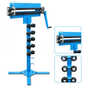 Manual Bead Roller With Cutting Capacity 1 2mm For Sheet Metal Reinforcement New