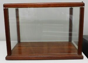 Antique Vintage Hand Made Wood Glass Display Case Counter Top Pick Up Only