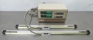 C175978 Mitutoyo Pg 12l Xy Digital Readout 2 At111 Linear Scales 500mm 700mm