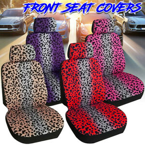 Universal Car Interior Front Seat Covers Protector Cushion Comfortable Polyester