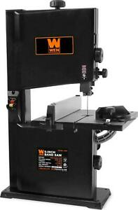 Benchtop 9in Band Saw 2 5 amp Motor W Adjustable Blade Guard Compact Power Tool