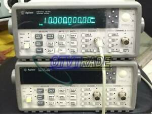 Agilent 53131a 225 Mhz Unuversal Frequency Counter Tested