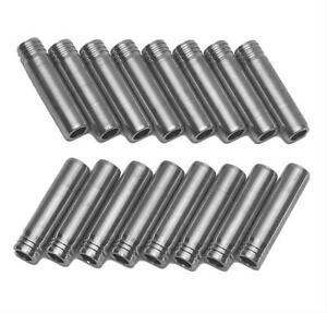 Trick Flow Valve Guide Exhaust Powdered Metal Twisted Wedge Gen 1 Sbc Set Of 8