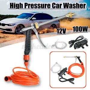 100w 200psi Electric Car High Pressure Washer Gun With Smart Water Pump Cleaner