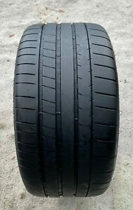 One 1 255 35 18 94y Michelin Pilot Super Sport Used 7 8 32