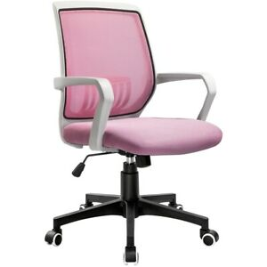 Mid back Home Office Desk Chair Ergonomic Executive Swivel Task Computer Chair