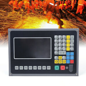 Flame plasma Cutting Machine Control System 2 axis 7 Color Lcd Cnc Controller