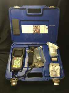 Olympus 45mg Ultrasonic Thickness Gage W D7906 sm Transducer Gauge