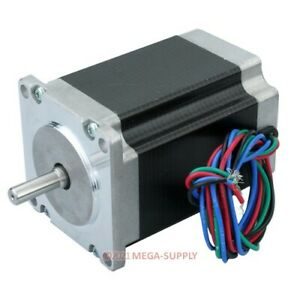 Nema23 Cnc Router Stepper Motor 2 Phase 4 wire 57bygh76 401a Single Shaft 1 86nm