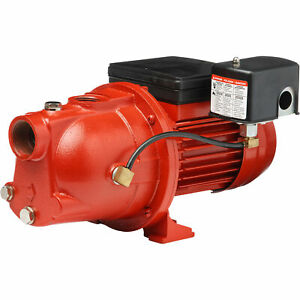 Red Lion Cast Iron Shallow Well Jet Water Pump 8864 Gph 3 4 Hp 1 1 4in