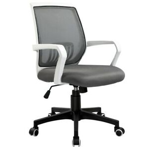 Ergonomic Mid back Office Chair Executive Computer Swivel Home Desk Task Chair