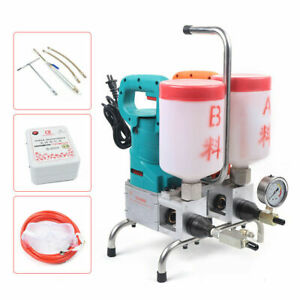 Dual Liquid Grouting Steel Machine Electric Epoxy Injection Leakage Plugging Top