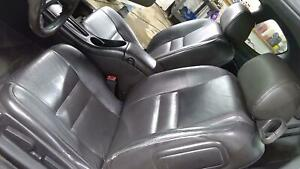 06 07 Chevy Monte Carlo Ss Oem Black Leather Heated Seat Set Front Rear