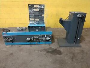 10 Awg Eubanks Model 02600 Automatic Wire Stripper With Feeder Stock 14830