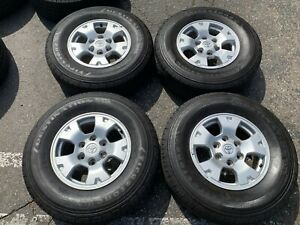 Four 2005 2014 Toyota Tacoma Factory 16 Wheels Tires Oem Rims T100 69461