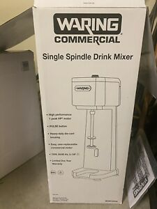 Waring Commercial Single Spindle Drink Mixer Wdm12osw