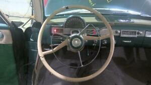 1954 Hudson Super Jet Oem Steering Wheel With Horn Button Pad