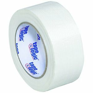 Aviditi Tape Logic 2 Inch X 60 Yards Reinforced Glass Filament Strapping Tape