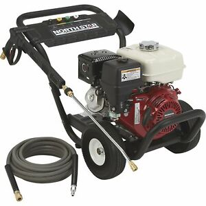 Northstar Gas Cold Water Pressure Washer 3600 Psi 3 0 Gpm Honda Engine