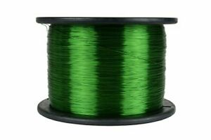 Temco 26 Awg Copper Magnet Wire 7 5 Lb 9435 Ft 155 c Magnetic Coil Green