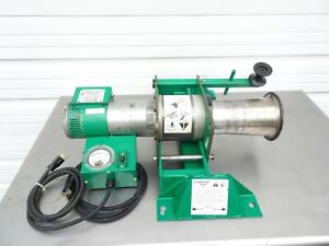 Greenlee 6800 Ultra Tugger 8000lb Cable Wire Puller Force Gauge Floor Mount