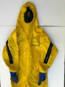 Tesimax Type 1b Sea Safety 30 Chemical Protective Suit Polyran l Size Xl 7