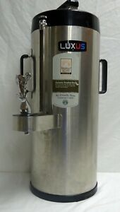 Fetco Luxus Tpd 15 Thermal Stainless Steel 1 5 Gallon Coffee Dispenser