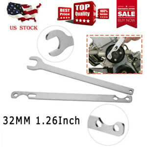 32mm 1 26inch For Bmw Fan Clutch Nut Wrench Water Pump Holder Removal Tool Kit