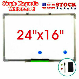 24 x16 Dry Erase Whiteboard Magnetic Whiteboard Office Learning Writing Board