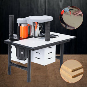Woodworking10 60mm Portable Double Side Gluing Edge Bander Banding Machine 110v