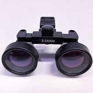 Gl4 2 5 X 420mm Loupe Surgical Magnifier For Clinic Dental Dentist Medical Case