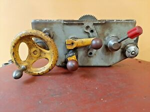 Rockwell 11 Metal Lathe Apron W Half Nuts Complete