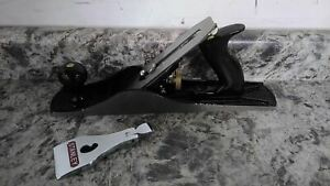 Stanley 12 905 14 In Overall L 2 In Blade W Cast Iron Body Bench Plane