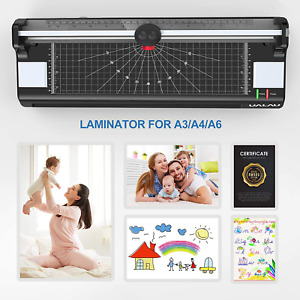 13 Inches Laminator Machine For A3 a4 a6 Ualau 7 In 1 Thermal Laminator With 20