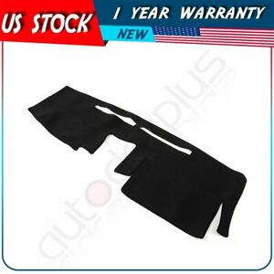 For Nissan Frontier 2 5l 3 8l 2007 2019 2020 Dashboard Cover Dash Mat Black